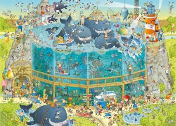 heye funky zoo puzzle
