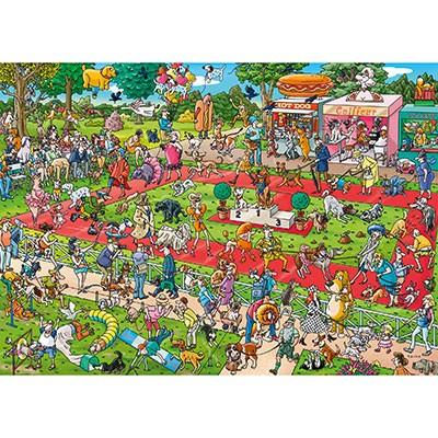 heye dog show puzzle