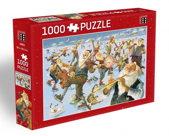 Puzzle_1000_Jolasveinar_Hljomsveit_2