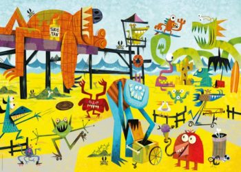 heye monster beach puzzle